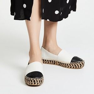 NWOB Tory Burch Platform Color Block Espadrilles